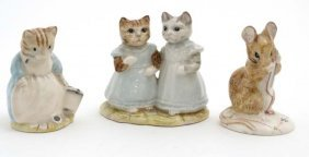 A Collection Of Three Royal Albert '' Beatrix Potter ''