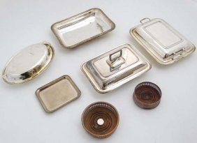 Assorted Silver Plated Wares To Include Entree Dishes,