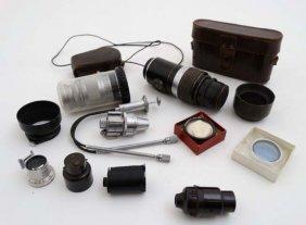 Leica Camera : A Cased Ernst Leitz Wetzlar Drp Leica