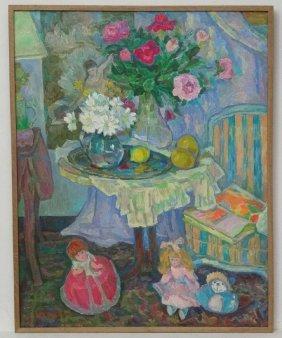 Mikhailov Oleg Nikolaevich (1934-1997), Russian School,