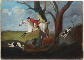 Circle Of Charles Loraine Smith (1751-1835) Early Xix,