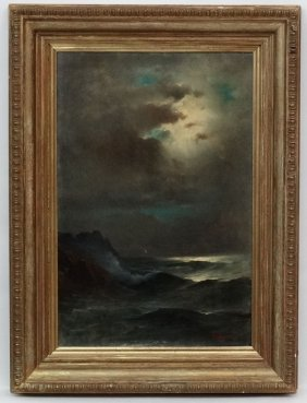 Pavlos Prosalentis (1857 - 1894) Greek, Oil On Canvas,