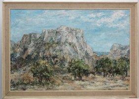 Crane , Australian / American Mid Xx Impressionist