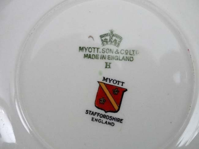 A Myott , Son & Co Ltd, Staffordshire , England '' - 7