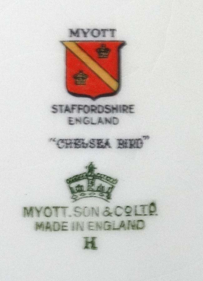 A Myott , Son & Co Ltd, Staffordshire , England '' - 8