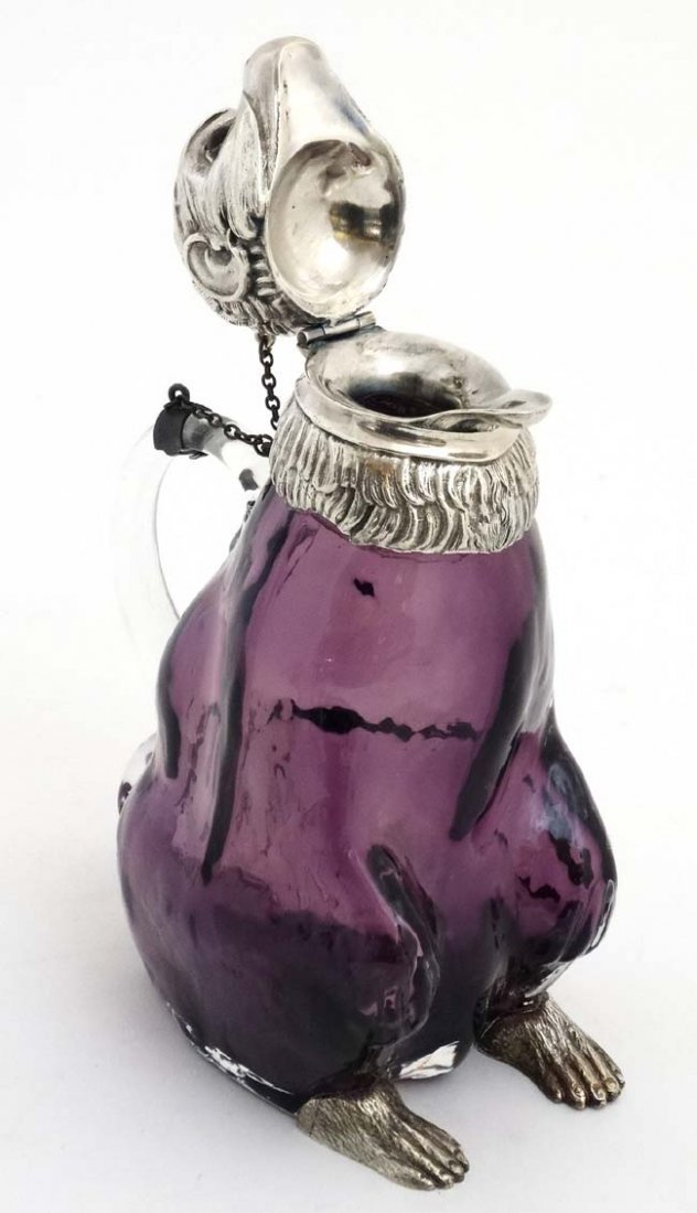 A 21stC novelty claret jug/ water jug formed as a - 5