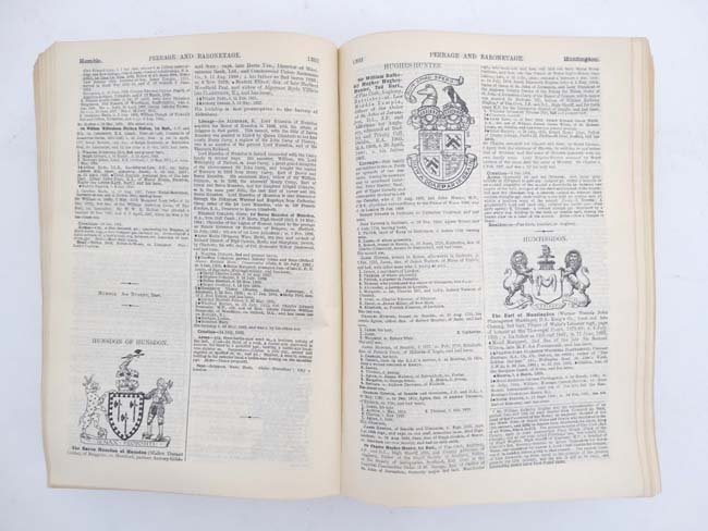 Book : '' A Genealogical and Heraldic History of the - 5