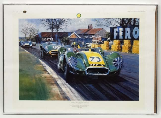 Motor Racing :  After Nicholas Watts XX Limited edition