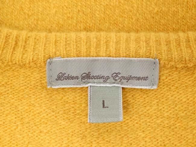 Laksen mustard jumper, 65% merino, 27% nylon, 5% - 2