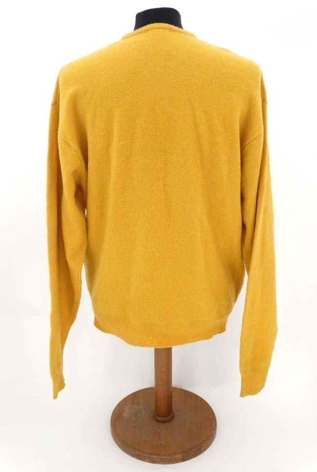 Laksen mustard jumper, 65% merino, 27% nylon, 5% - 3