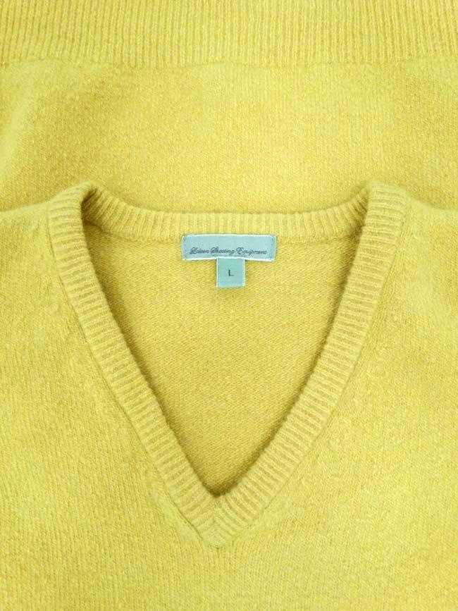 Laksen mustard jumper, 65% merino, 27% nylon, 5% - 4