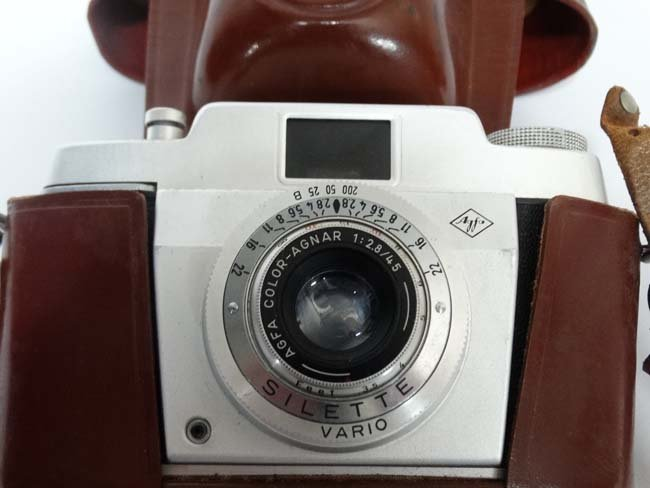 A set of mid 20thc  Carl Zeiss '' Jena '' Deltrinem 8 x - 2