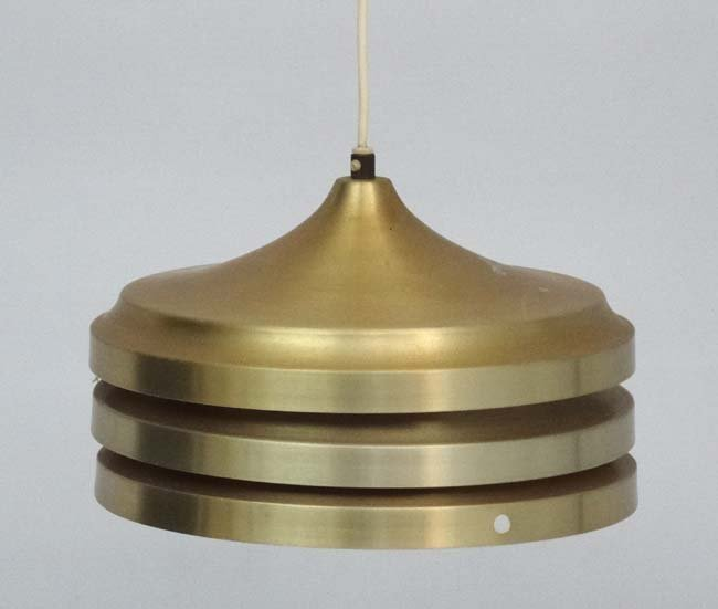 Vintage Retro : A Danish 3 tier pendant lamp, with - 2