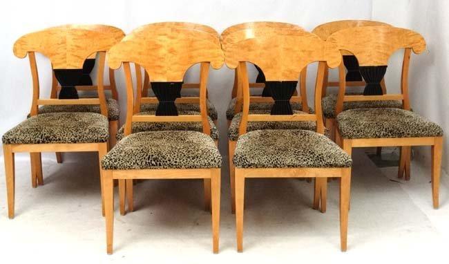 Mid Century:  An Impressive Biedermeier style extending - 7