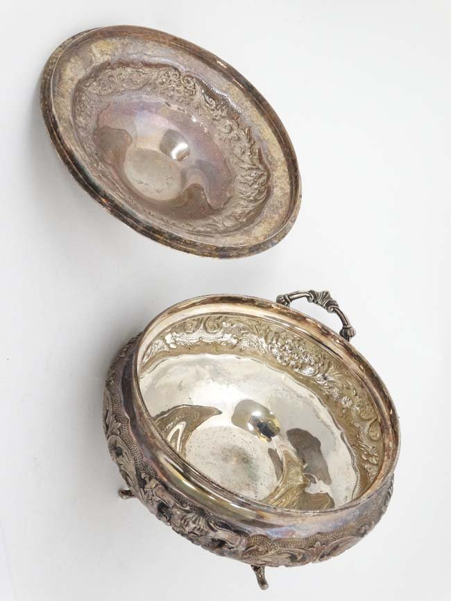 A 20thC Portuguese silver ( second standard .833 ) ( - 4