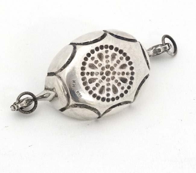 Scandinavian Silver : A Silver salt formed as a - 4