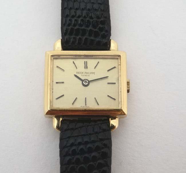 Wristwatch : Patek Phillipe , a 18ct (.750 ) gold cased - 4