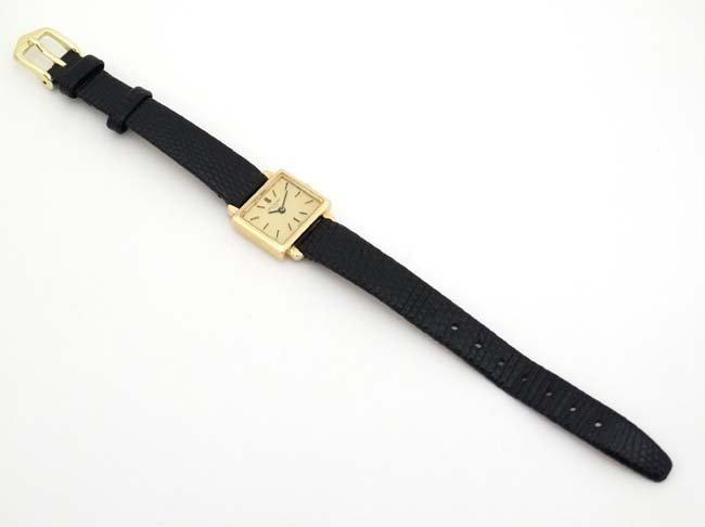 Wristwatch : Patek Phillipe , a 18ct (.750 ) gold cased - 6