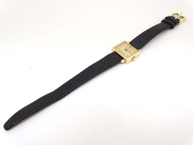 Wristwatch : Patek Phillipe , a 18ct (.750 ) gold cased - 9