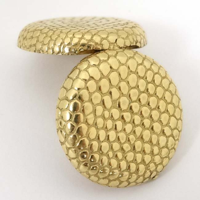 18ct Tiffany & Co  box : an Italian 18 ct Hinge lidded - 6