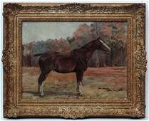 Attributed to Frances Mabel Hollams 18771963 Oil on