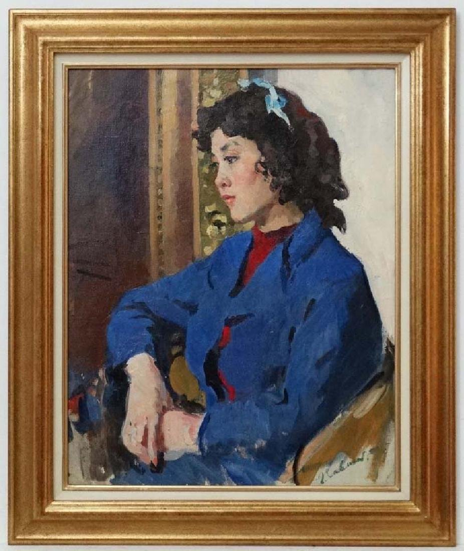 Gleb Alexandrovich Savinov (1915-2000) Russian School,