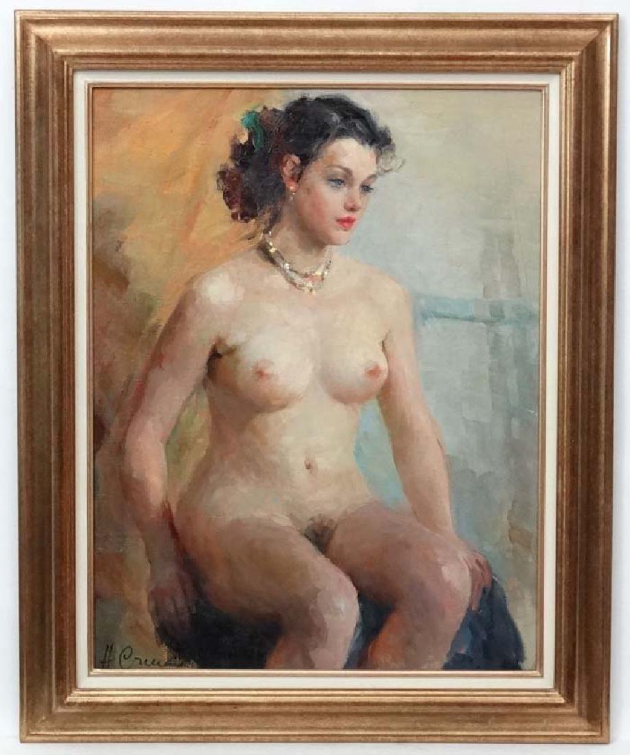 Stchastnaya Ninel Ivanovna (b.1933) Russian School Oil