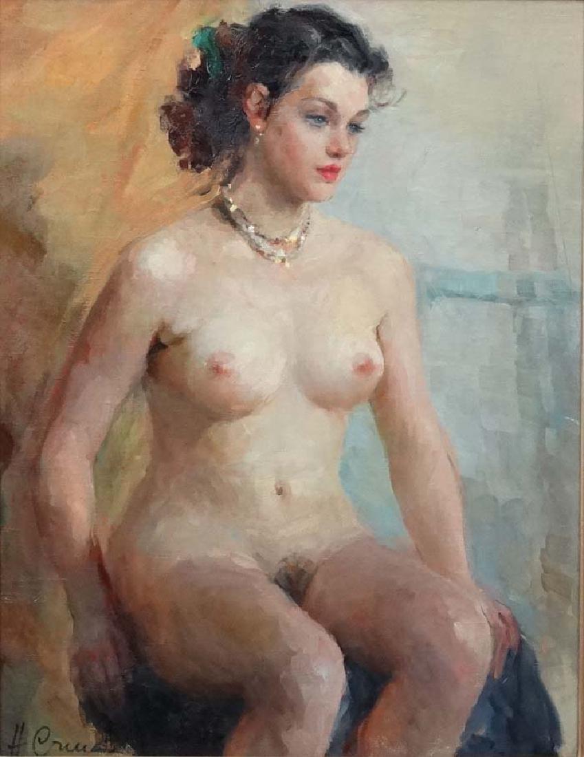 Stchastnaya Ninel Ivanovna (b.1933) Russian School Oil - 4
