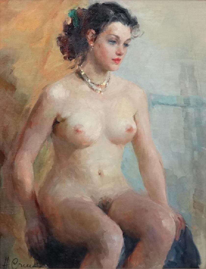 Stchastnaya Ninel Ivanovna (b.1933) Russian School Oil - 5