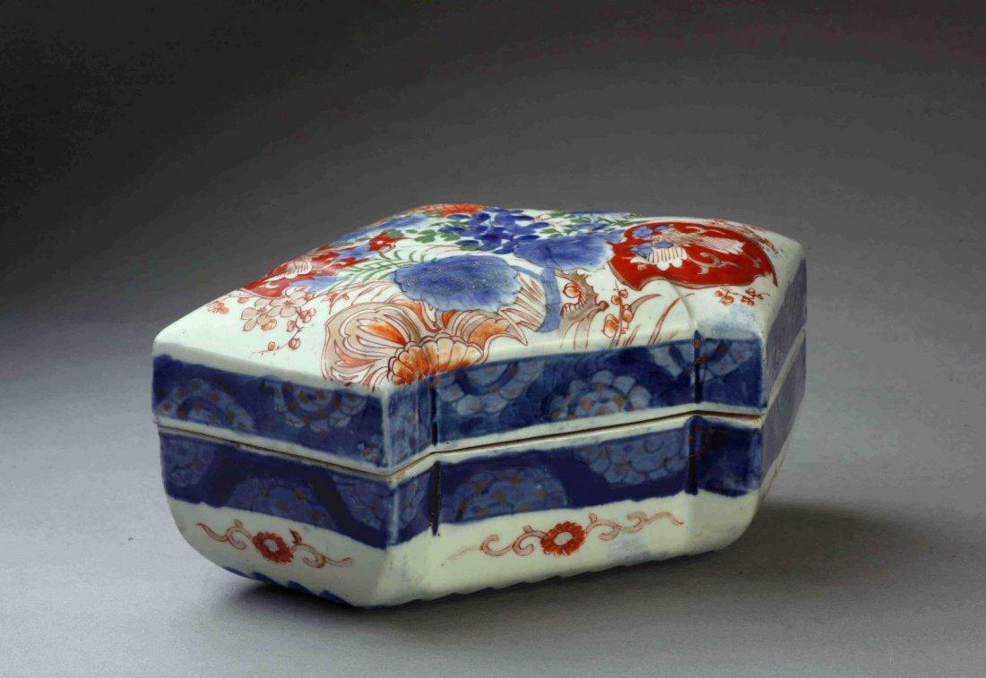 Imari Box in shape of folded paper