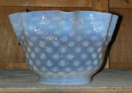 7: Opalescent Blue Gas Shade