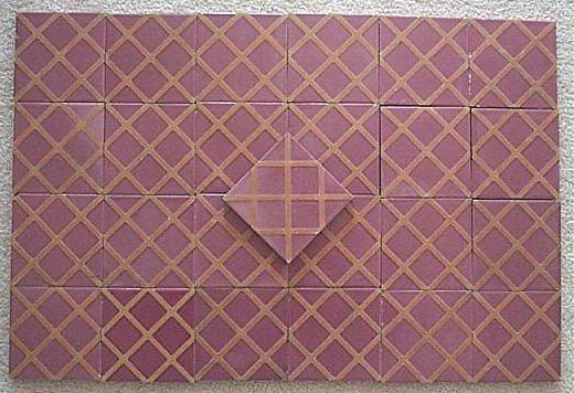 10: Franklin Tile Company 1930 tile set