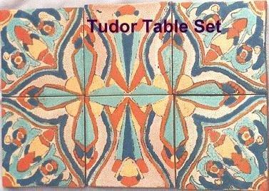 12: Tudor Potteries California tile set