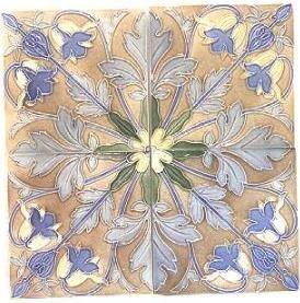 14: Belgian tile set ca 1900