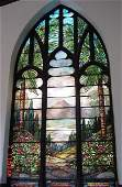 66: Scenic Stained Glass Windows by Lamb Stud