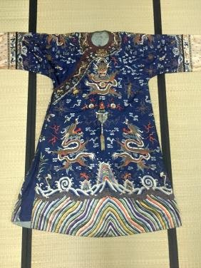 Chinese Embroidery Dragon Robe