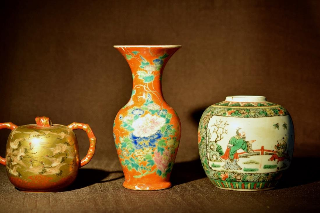 Group of Asian Porcelains