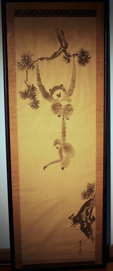 Chinese Monkey Painting