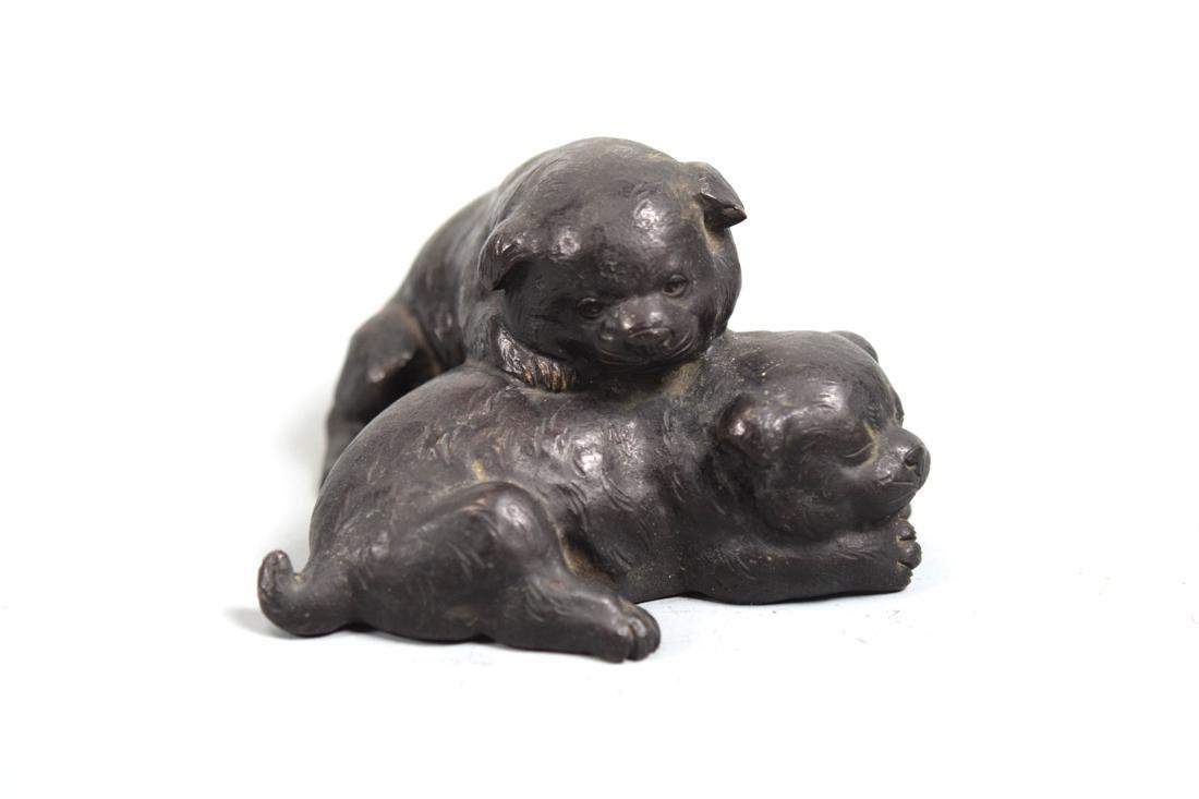 Japanese Bronze Puppy Group