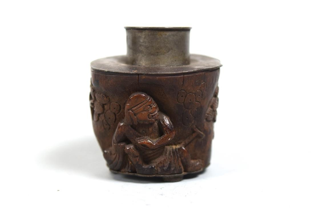 Chinese Bamboo Tea Caddy