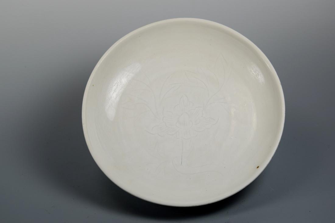 Chinese Blanc de Chine De Hua Porcelain Charger