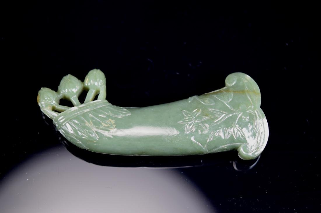 Persian Moghul Celadon Jade Dagger Handle