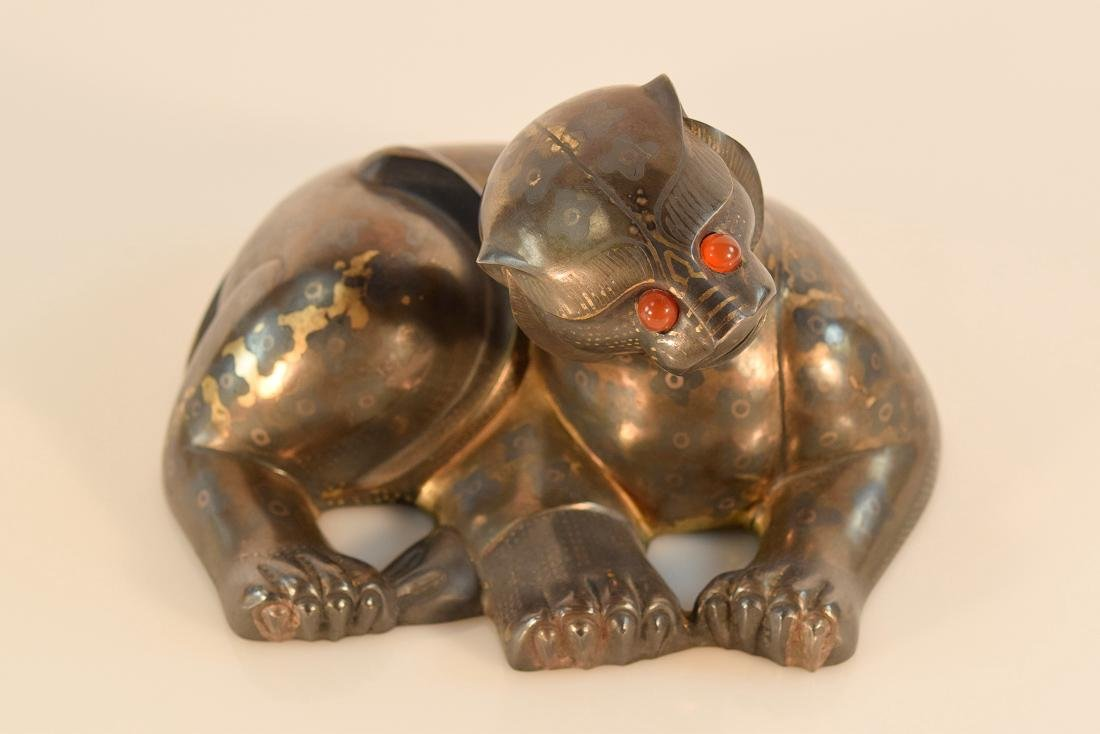 Chinese Silver Leopard - 7