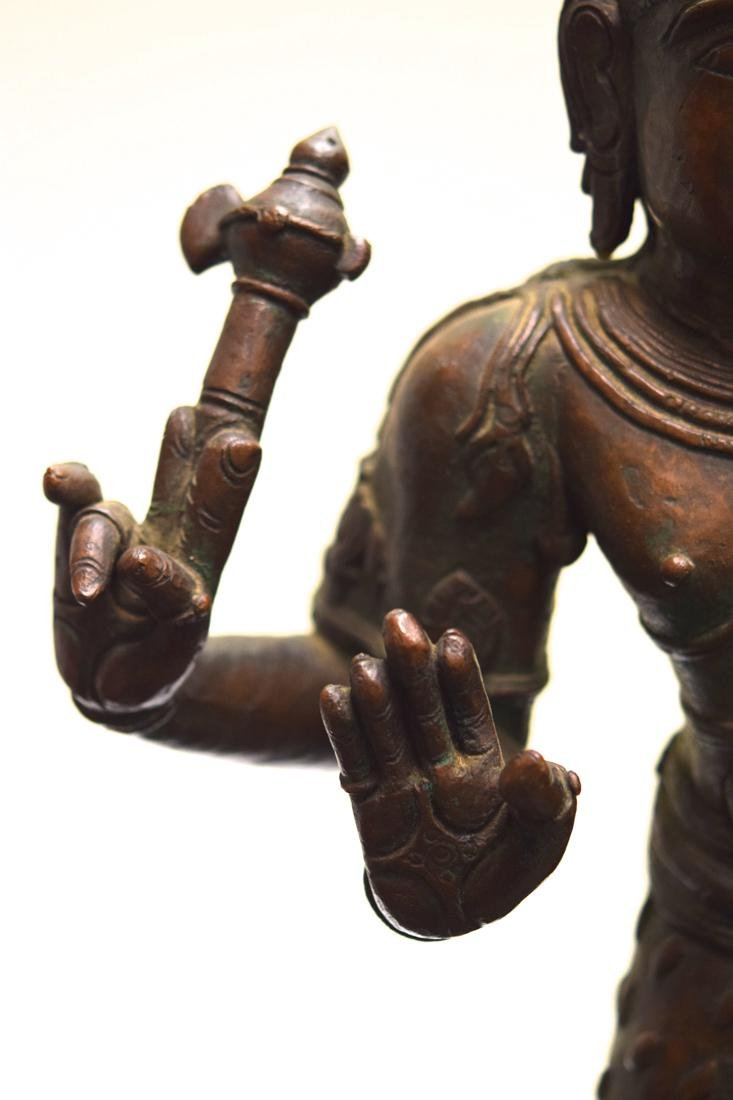 Antique Indian Bronze Statue of Shiva - 6