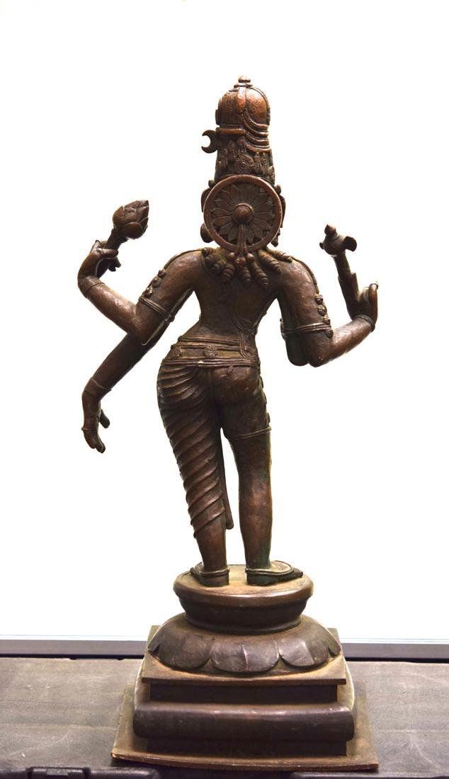 Antique Indian Bronze Statue of Shiva - 8