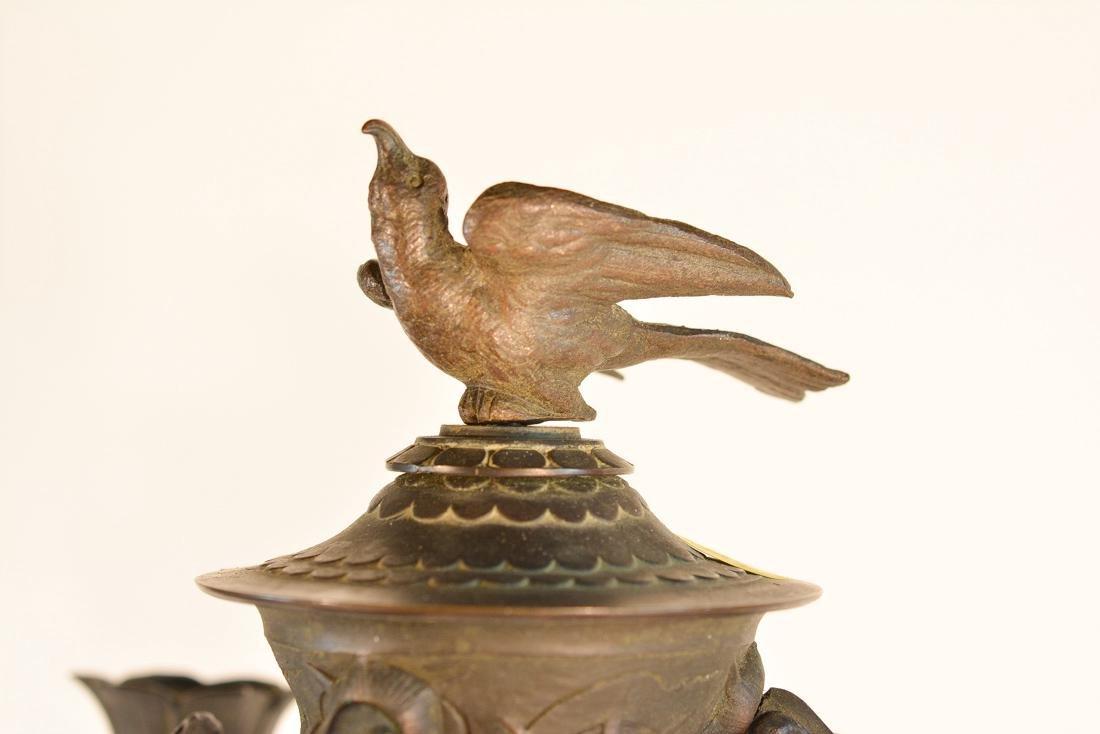 American Aesthetic Movement Bronze Candelabra - 6