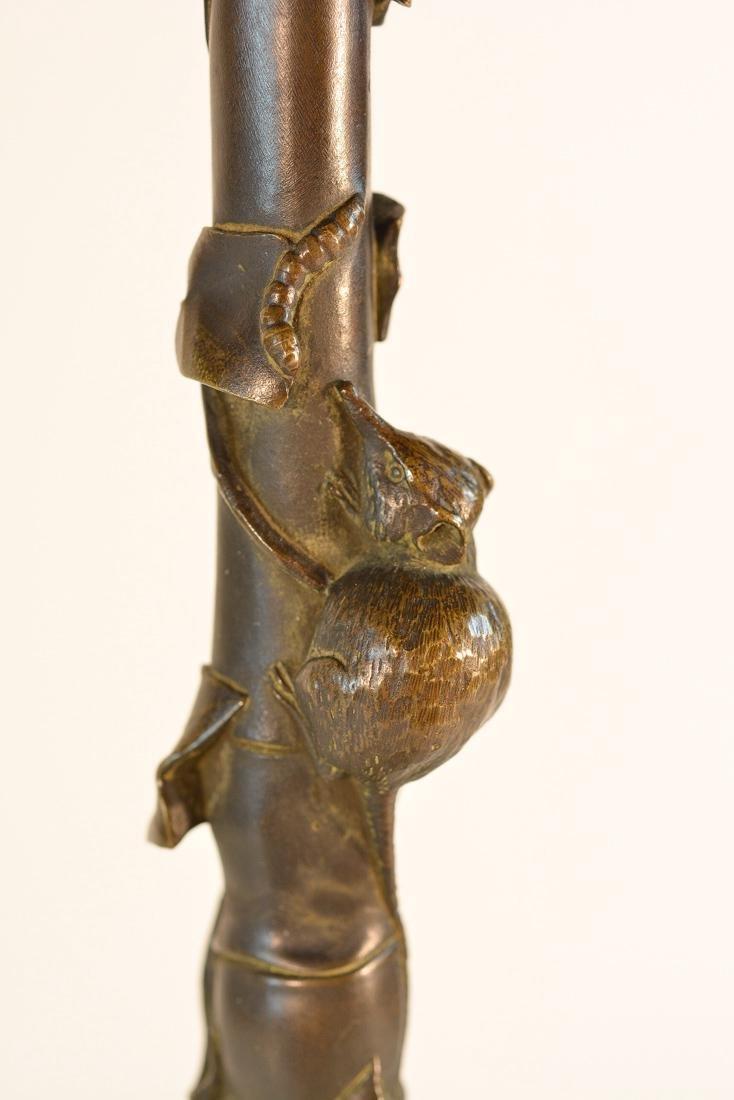 American Aesthetic Movement Bronze Candelabra - 7