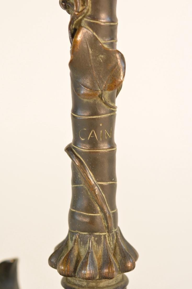 American Aesthetic Movement Bronze Candelabra - 8