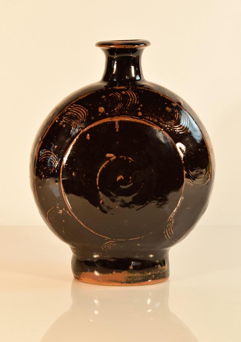 Japanese Moonflask Vase - Hamada