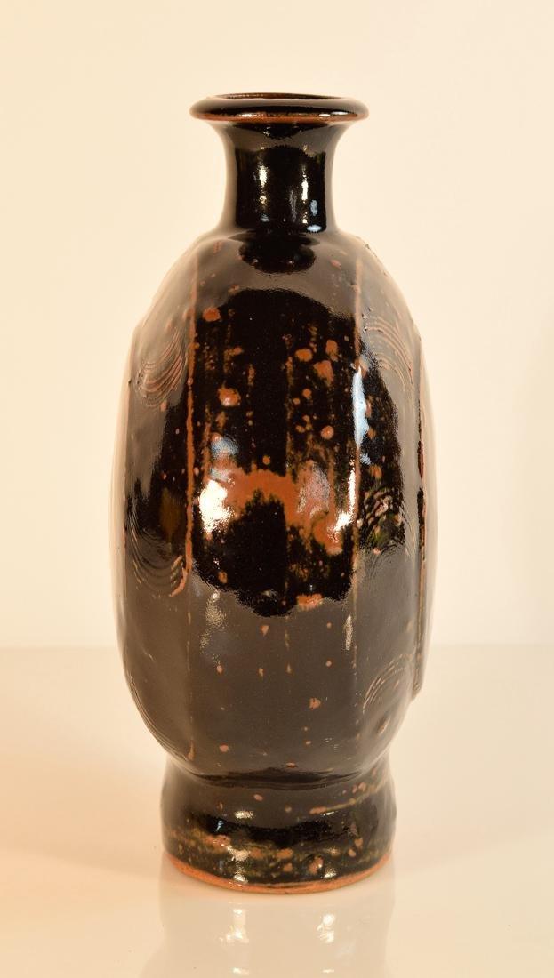 Japanese Moonflask Vase - Hamada - 5